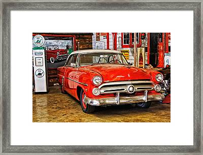 Fill Her Up Framed Print