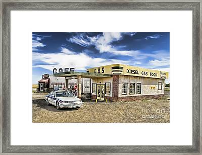 Fill It Up Framed Print by Nicholas Kokil
