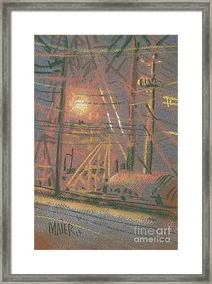 Fill Point Framed Print by Donald Maier