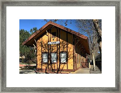 Framed Print featuring the photograph Fillmore Station by Michael Gordon