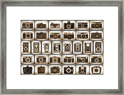 Film Camera Proofs Framed Print by Mike McGlothlen