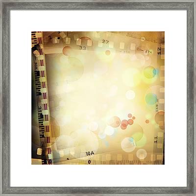 Film Frames  Framed Print