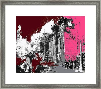Film Homage D.w. Griffith Intolerance 1916 Fall Of Babylon 1916-2012  Framed Print by David Lee Guss