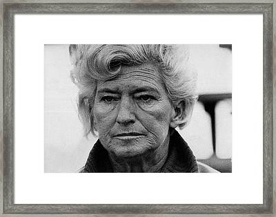 Film Homage  Film Noir Gloria Graham In A Lonely Place 1950 Demolition Derby Tucson Arizona '69-2008 Framed Print by David Lee Guss