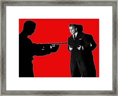 Film Homage James Cagney Angels With Dirty Faces 1939-2014 Framed Print by David Lee Guss