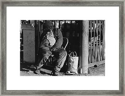 Film Noir Robert Mitchum Where Danger Lives 1950 El Bulla Nogales Sonora Mexico 1968 Framed Print by David Lee Guss
