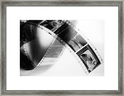 Film Strip Framed Print by Tommytechno Sweden