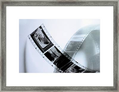Film Strips Framed Print