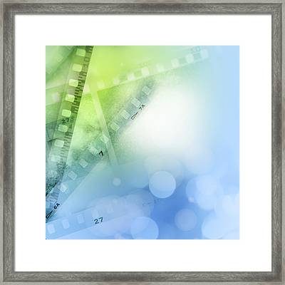Filmstrips Framed Print by Les Cunliffe