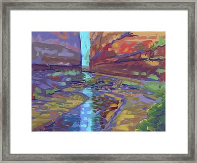 Filtered Light Framed Print