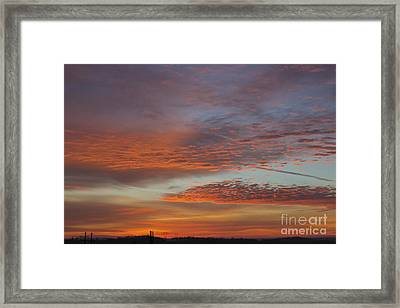 Final 2012 Sunrise Framed Print by Michael Waters