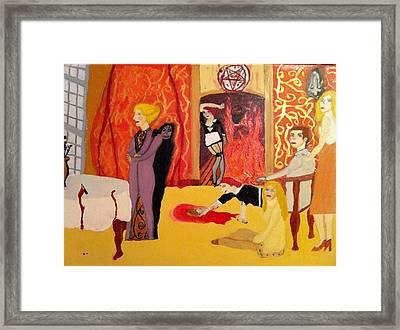 Final Damnation Framed Print by Micheal Cummins