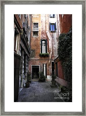 Final Destination In Venice Framed Print