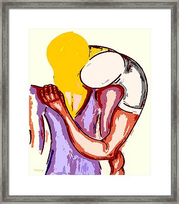 Final Embrace Framed Print by Patrick J Murphy