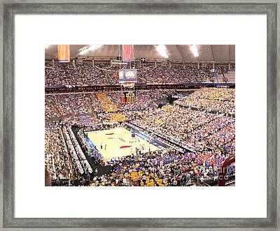 Final Four Framed Print by David Bearden