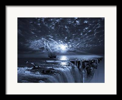 Mystic Sunset Framed Prints