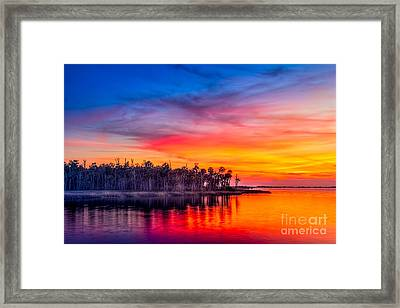Final Glow Framed Print by Marvin Spates