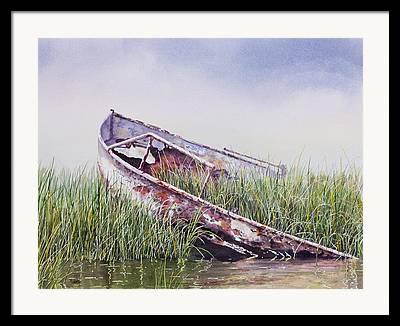 Marshes Framed Prints
