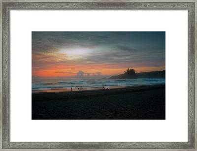 Final Light Framed Print by Mark Alder