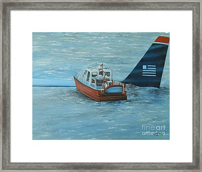 Final Rescue Framed Print