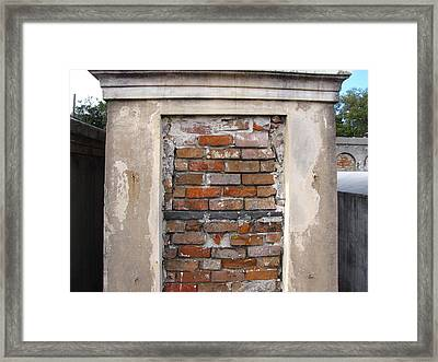 Final Resting Place Framed Print by Beth Vincent