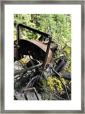 Final Resting Place Framed Print by Cathy Mahnke