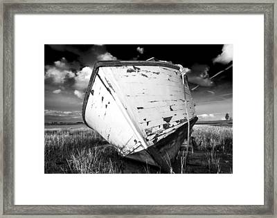 Framed Print featuring the photograph Final Resting Place by Trevor Chriss