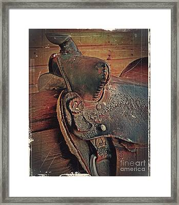 Final Ride Framed Print by Steven Milner