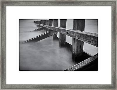 Final Stop Framed Print