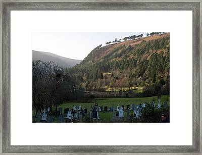 Final Vista Framed Print by Dave Byrne