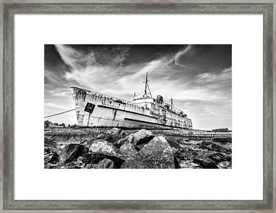 Final Voyage Framed Print