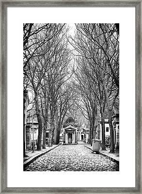 Final Walk Framed Print