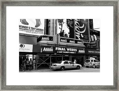 Final Weeks Mono Framed Print