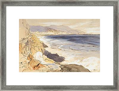 Finale Framed Print by Edward Lear