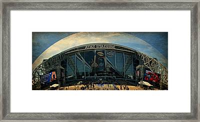 Finals Madness 2014 At Att Stadium Framed Print by Stephen Stookey