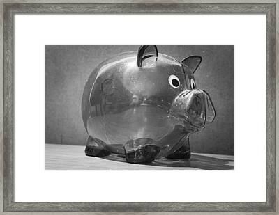 Finances Framed Print by John Rossman