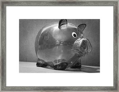 Finances Framed Print