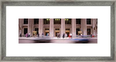 Financial District, Chicago, Illinois Framed Print