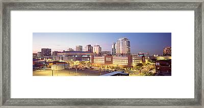 Financial District, Phoenix, Arizona Framed Print by Panoramic Images