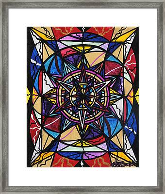 Financial Freedom Framed Print by Teal Eye  Print Store