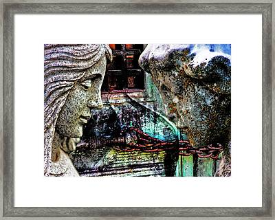 Find A Path  Framed Print by Jon Baldwin  Art
