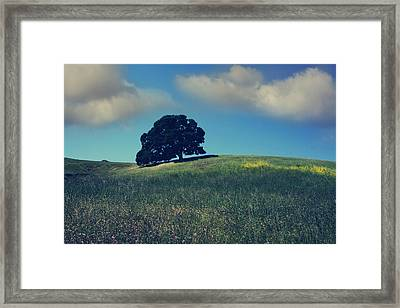 Find It In The Simple Things Framed Print