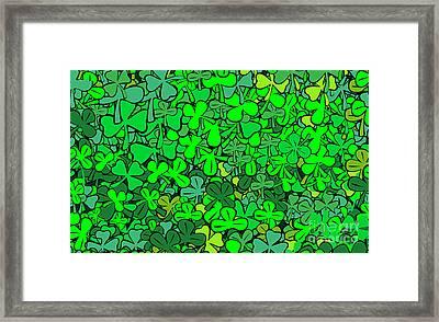 Find Quatrefoil Framed Print by Michal Boubin