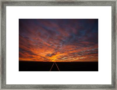 Framed Print featuring the photograph Find Your Path by Shirley Heier