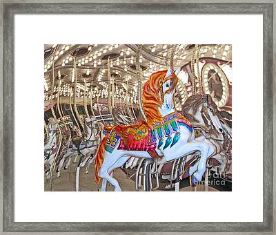 Find Your Ride Framed Print