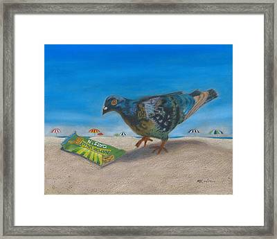 Framed Print featuring the painting Finders Keepers by Arlene Crafton