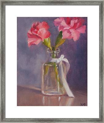 Finding A Home Framed Print by Debbie Lamey-MacDonald