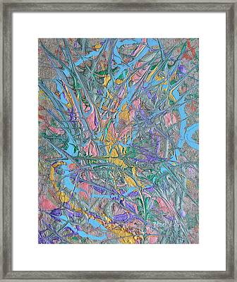 Finding Easter Framed Print by Donna Blackhall