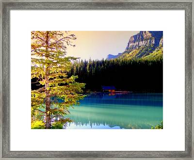 Finding Inner Peace Framed Print by Karen Wiles