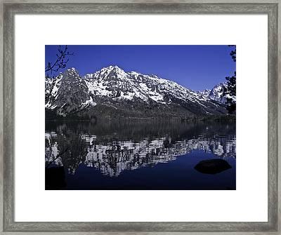Finding It Framed Print